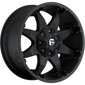 20x9 Black Fuel Octane Wheels 5x5 5x5 5 12 Lifted Mitsubishi Raider