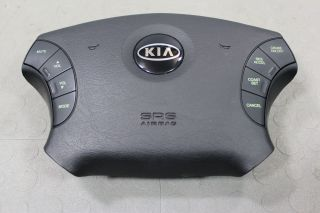 04 05 06 Kia Amanti LH Drivers Side Airbag Air Bag Black Steering Wheel Controls