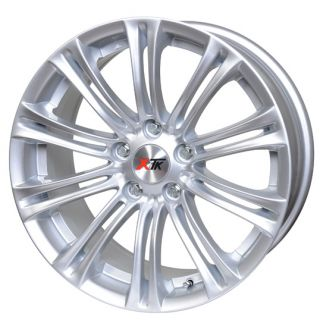 KD005 4 SILVER ALLOY WHEELS FOR LAND ROVER DISCOVERY 2 8J 5 120 ET34