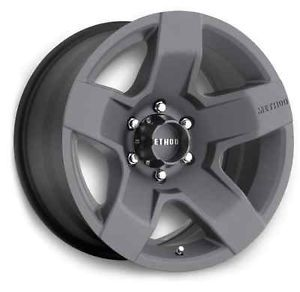 "17"" Method Race Wheels Fat Five Wheel Set 17x8 5 Gun Metal Grey 5 6 8 Lug 0mm"