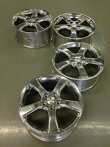 4 Pontiac Grand Prix GXP Factory 18 Wheels Rims Polished Forged Alcoa