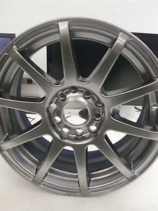 "Motegi Racing SP10 MR2743 Hyper Black Wheel w Clear Coat Finish 15x7"" 5x100mm"