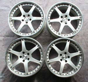 O Z Racing Galileo III 19x8 5 5x112 Audi Mercedes VW 3 Piece Wheels oz Racing