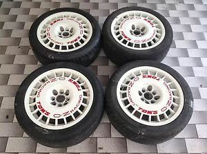 Original RARE oz Racing 4 Wheels Rims BMW BBs Hartge AC Schnitzer VW Volkswagen
