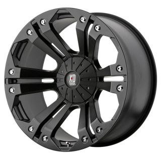18 inch Black Wheels Rims KMC XD 778 Monster Toyota Tundra 2007 2013 Only 5x150
