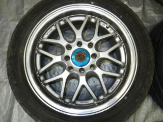 "JDM 15"" inch Sparco Racing Rims Wheels 4x100 4x114 3 15x6 5 45 Offset Civic EF9"