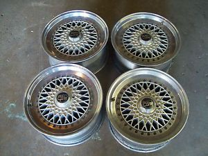 "RARE oz Racing Vega MSW Rims Wheels 16"" BMW E24 M6 M5 635CSI"