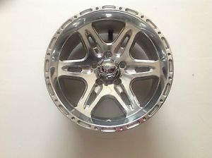 "16"" Ultra Badlands 208 5 Lug Jeep Wheel Rim 5x114 3 16x8 Polished 2086865P 5x4 5"