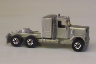 GMC Semi Cab Only Steering Rigs Hot Wheels Hong Kong Truck Vtg Diecast Toy
