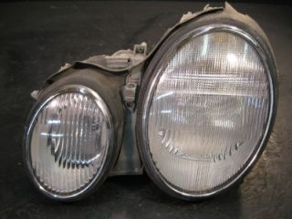 Used Damaged 2001 Mercedes Benz CLK 320 Headlight Assembly Parts Auto Left Side