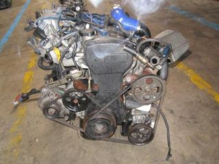 Toyota Starlet Tercel 1 3L Turbo Engine with 5 Speed Transmission JDM 4EFTE