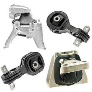 07 08 09 Honda CR V Engine Motor Mount 2 4L Set of 4