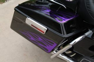 Graphics Harley Road King Road Glide Saddle Bags