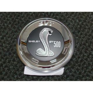 2010 2011 2012 Mustang Genuine Ford Parts Shelby GT500 Faux Gas Cap Emblem