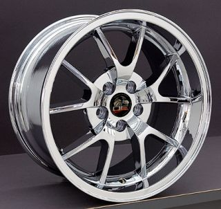 Mustang Chrome Rims 18