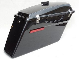 Harley Davidson Touring Flt FLH Right Police Style Hard Saddlebag