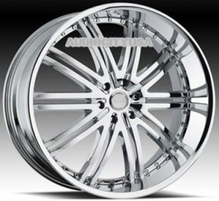 "26"" inch D1 CR Wheels and Tires Rims for 300C Charger Magnum Challenger"