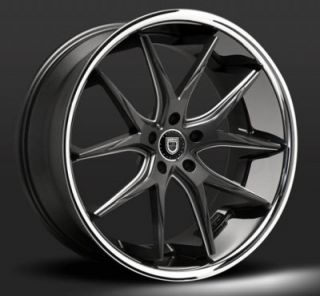 "22"" Lexani R12 Twelve BMC Wheels Rims for BMW Mercedes Honda Infiniti"