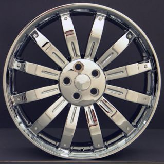 "22"" Chrome Wheels Rims Fit Range Land Rover HSE Sport LR3 LR4 Supercharged"