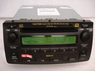 New 2004 2005 2006 2007 2008 Toyota Corolla JBL Radio 6 CD Disc Player Changer