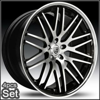 22inch Lexani for Luxus Impala Honda Audi Infiniti Jaguar Altima Wheels Rims
