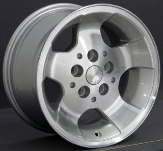 15x8 Silver Wrangler Wheels Rims Nexen Roadian MT 31x10 5 Tires Fit Jeep