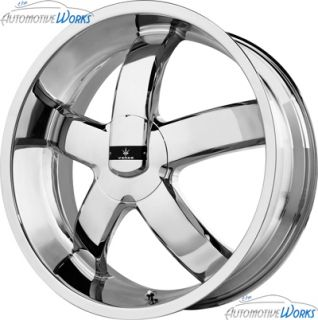 1 20x8 5 Verde Skylon 5x115 5x110 38mm Chrome Wheel Rim inch 20""