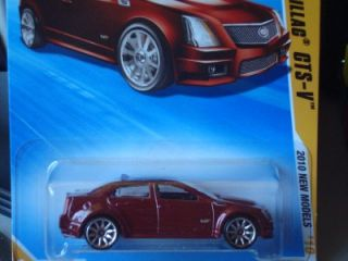 Hot Wheels 2010 New Models 09 Cadillac cts V 010