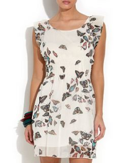 Cameo Rose Cream Butterfly Dress