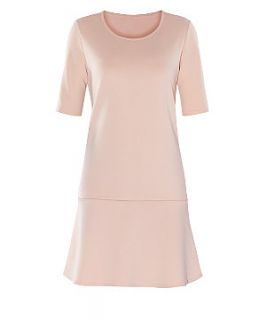 Vero Moda Shell Pink Drop Waist Dress