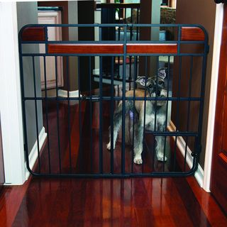 Carlson Expandable Design Studio Extra Tall Tuffy Wood Metal Gate Carlson Pet Products Pet Gates