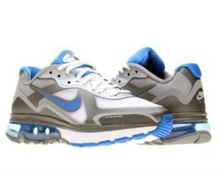 Nike Air Max Alpha 2011+ Mens Running Shoes 454347 101 White 8.5 M US Sports & Outdoors