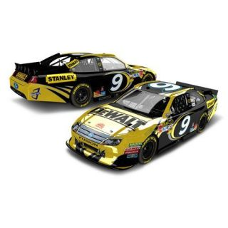 #9 Marcos Ambrose 2012 DeWalt Color Chrome 1/24 NASCAR Diecast Car Ford Fusion Action Platinum Series LNC
