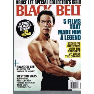 BLACK BELT Magazine (July 2012) BRUCE LEE Special Collectors Issue Books