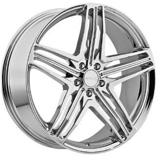 Menzari Z12 22x8.5 Chrome Wheel / Rim 5x115 with a 35mm Offset and a 74.10 Hub Bore. Partnumber Z12085541+35C Automotive