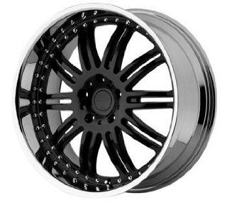 KMC KM127 20x8.5 Black Wheel / Rim 5x120 with a 38mm Offset and a 72.56 Hub Bore. Partnumber KM12728552538 Automotive