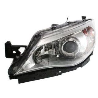 OE Replacement Subaru Impreza Driver Side Headlight Assembly Composite (Partslink Number SU2502124) Automotive