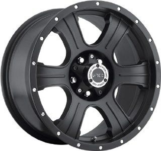 V Tec Assassin 16 Matte Black Wheel / Rim 8x6.5 with a  6mm Offset and a 125.2 Hub Bore. Partnumber 396 6881MB 6 Automotive