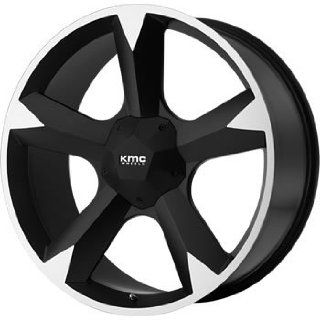 KMC KM674 24x9.5 Black Wheel / Rim 6x135 & 6x5.5 with a 30mm Offset and a 106.25 Hub Bore. Partnumber KM67424967730 Automotive