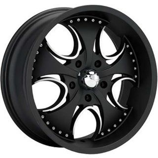 KMC KM755 24x9.5 Black Wheel / Rim 5x4.5 with a 12mm Offset and a 72.60 Hub Bore. Partnumber KM75524912712 Automotive
