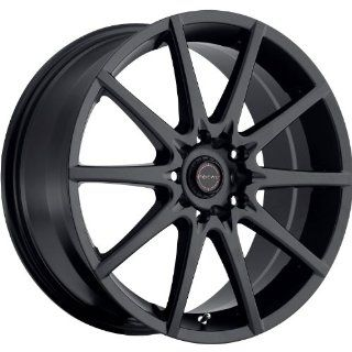 Focal F 04 15 Black Wheel / Rim 4x100 & 4x4.5 with a 38mm Offset and a 73 Hub Bore. Partnumber 428 5603SB+38 Automotive