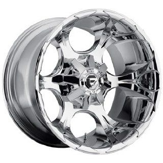Fuel Dune 20x12 Chrome Wheel / Rim 8x6.5 with a  44mm Offset and a 125.20 Hub Bore. Partnumber D52220208247 Automotive
