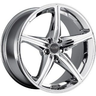 Foose Speed 17 Chrome Wheel / Rim 5x4.5 with a 40mm Offset and a 72.60 Hub Bore. Partnumber F135177565+40 Automotive