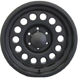 American Eagle 100 15 Black Wheel / Rim 5x4.5 with a  30mm Offset and a 82.80 Hub Bore. Partnumber 10025812 Automotive