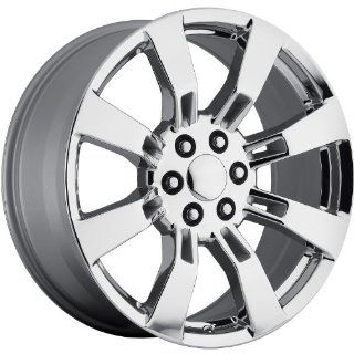 Strada Replicas 144 24 Chrome Wheel / Rim 6x5.5 with a 31mm Offset and a 78.1 Hub Bore. Partnumber 144C 2415831 Automotive