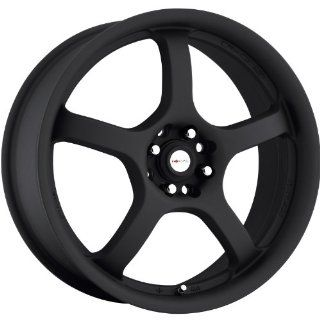 Focal F 05 15 Black Wheel / Rim 4x4.25 & 4x100 with a 38mm Offset and a 73 Hub Bore. Partnumber 166 5601B Automotive