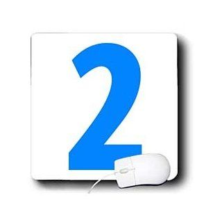 mp_112246_1 EvaDane   Numbers   2, Happy 2nd Birthday, Baby Boy, Blue   Mouse Pads