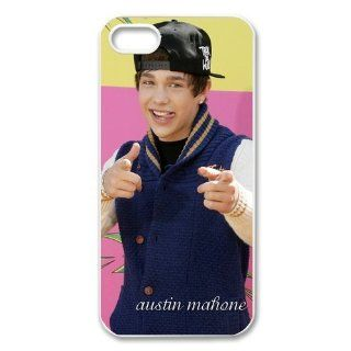 "Idol ""Austin Mahone"" Protective Hard Case Cover Skin for Apple iPhone 5/5s  1 Pack   Black/White   3  Perfect Gift for Christmas Cell Phones & Accessories"