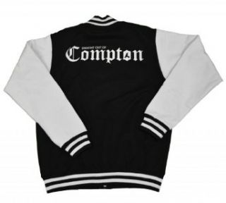 21 Century Clothing Men's Straight out of Compton Varsity Jacket Clothing