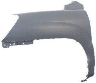 OE Replacement Kia Sportage Front Passenger Side Fender Assembly (Partslink Number KI1241120) Automotive